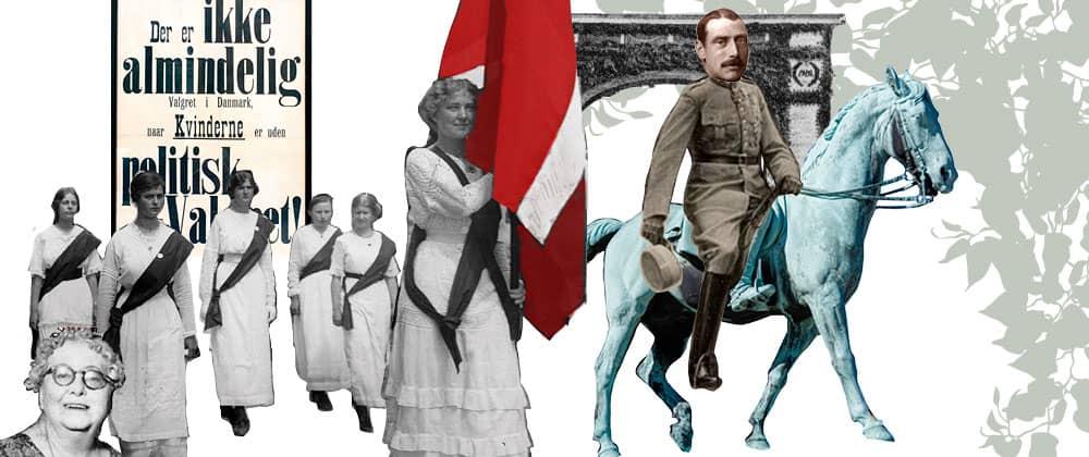 1915 Kvinder Får Stemmeret